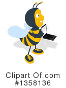 Bee Clipart #1358136 by Julos