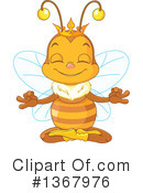 Bee Clipart #1367976 by Pushkin