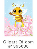 Royalty-Free (RF) Bee Clipart Illustration #1395030