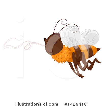 Royalty-Free (RF) Bee Clipart Illustration by BNP Design Studio - Stock Sample #1429410