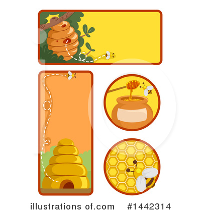 Bee Clipart #1442314 by BNP Design Studio
