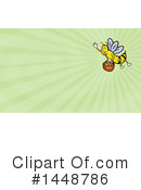 Royalty-Free (RF) Bee Clipart Illustration #1448786
