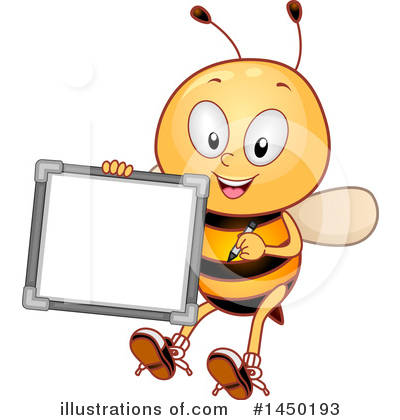 Bee Clipart #1450193 by BNP Design Studio
