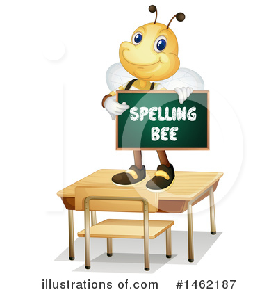 Bee Clipart #1462187 by Graphics RF