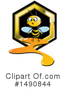 Bee Clipart #1490844 by Lal Perera