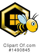Bee Clipart #1490845 by Lal Perera