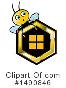 Bee Clipart #1490846 by Lal Perera