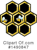 Bee Clipart #1490847 by Lal Perera