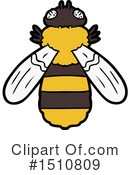 Bee Clipart #1510809 by lineartestpilot