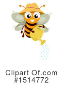 Bee Clipart #1514772 by BNP Design Studio