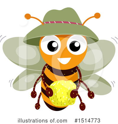 Bee Clipart #1514773 by BNP Design Studio