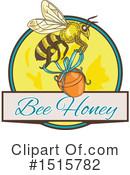 Bee Clipart #1515782 by patrimonio