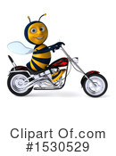 Bee Clipart #1530529 by Julos