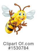 Bee Clipart #1530784 by AtStockIllustration