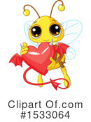 Bee Clipart #1533064 by Pushkin