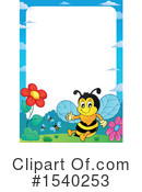Bee Clipart #1540253 by visekart
