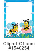 Bee Clipart #1540254 by visekart