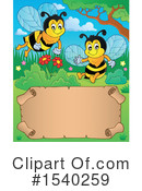 Bee Clipart #1540259 by visekart