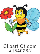 Bee Clipart #1540263 by visekart