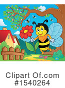 Bee Clipart #1540264 by visekart