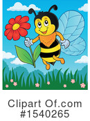 Bee Clipart #1540265 by visekart