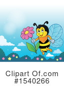 Bee Clipart #1540266 by visekart