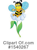 Bee Clipart #1540267 by visekart