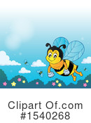 Bee Clipart #1540268 by visekart