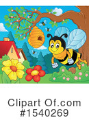 Bee Clipart #1540269 by visekart