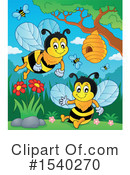 Bee Clipart #1540270 by visekart