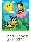 Bee Clipart #1540271 by visekart