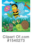 Bee Clipart #1540273 by visekart