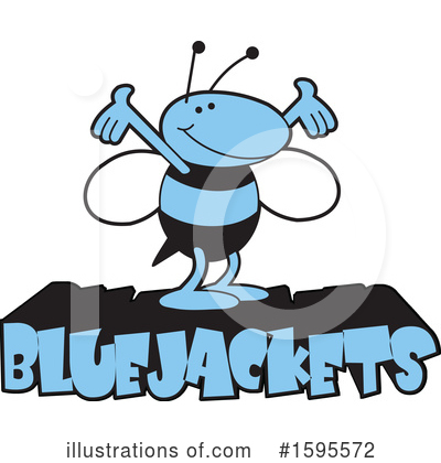 Bee Clipart #1595572 by Johnny Sajem