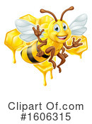 Bee Clipart #1606315 by AtStockIllustration