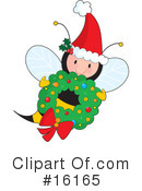 Royalty-Free (RF) Bee Clipart Illustration #16165