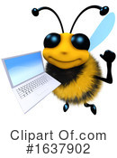 Bee Clipart #1637902 by Steve Young