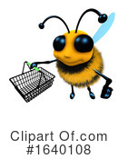 Bee Clipart #1640108 by Steve Young