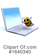 Bee Clipart #1640340 by Steve Young