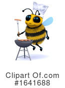 Bee Clipart #1641688 by Steve Young