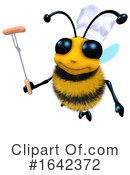 Bee Clipart #1642372 by Steve Young