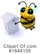 Bee Clipart #1644105 by Steve Young