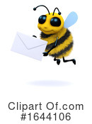 Bee Clipart #1644106 by Steve Young