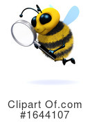 Bee Clipart #1644107 by Steve Young