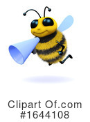 Bee Clipart #1644108 by Steve Young