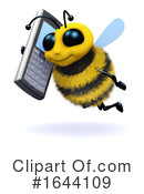 Bee Clipart #1644109 by Steve Young
