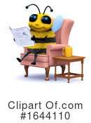 Bee Clipart #1644110 by Steve Young