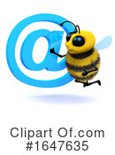 Bee Clipart #1647635 by Steve Young
