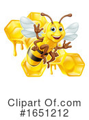 Bee Clipart #1651212 by AtStockIllustration