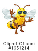 Bee Clipart #1651214 by AtStockIllustration