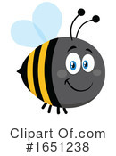 Bee Clipart #1651238 by Hit Toon